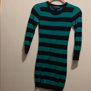 French Connection Striped Sweater Dress Size 2